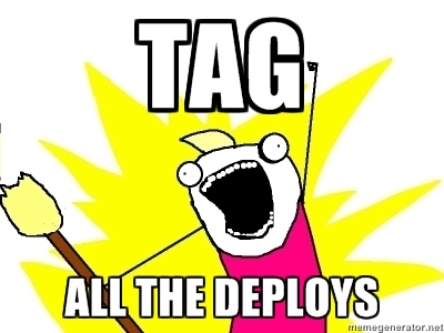 TAG - ALL THE DEPLOYS (meme)